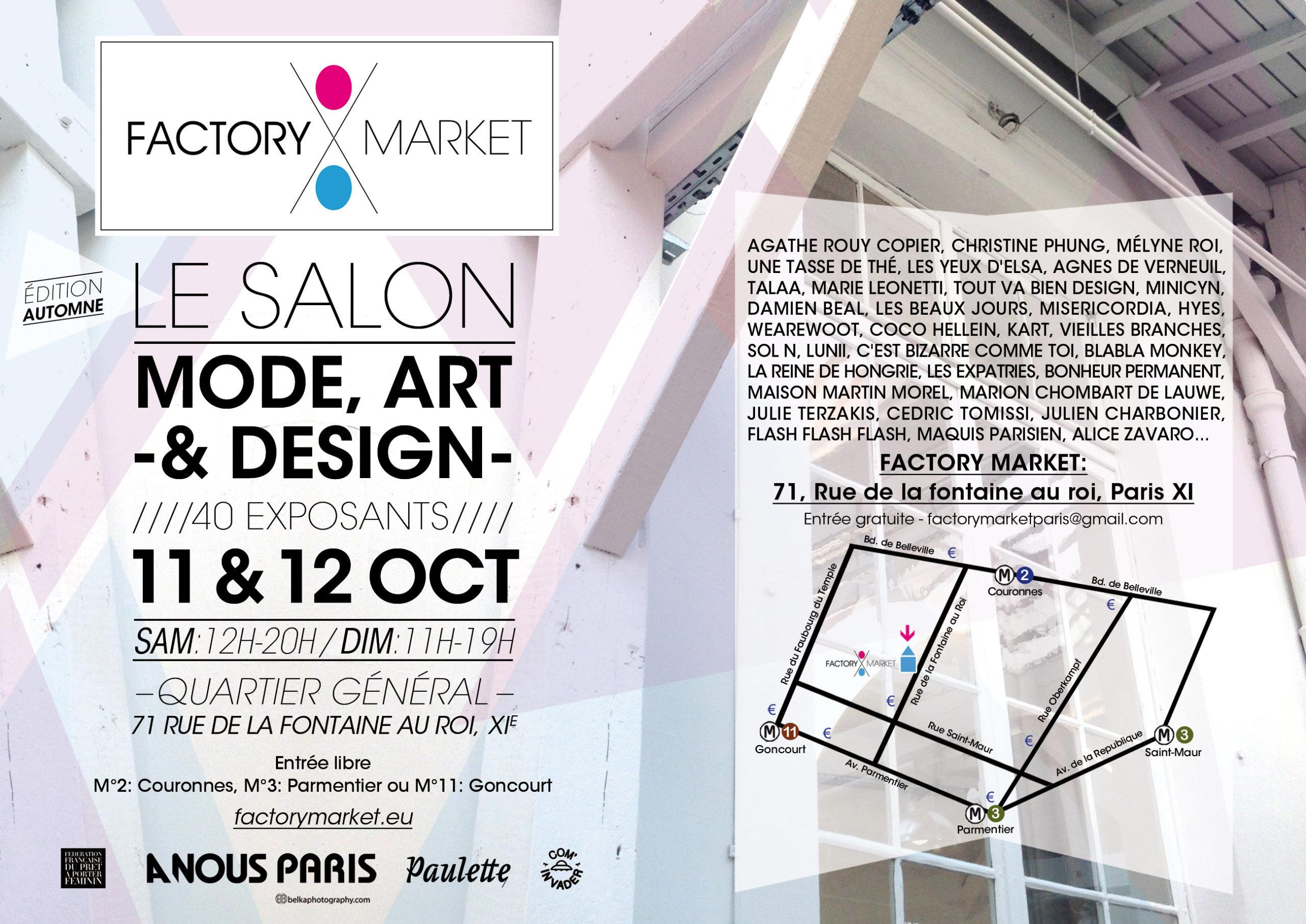 Factory Market - Agnès de Verneuil