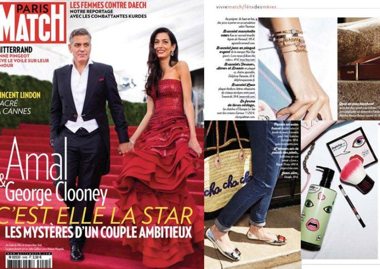 Paris Match, Mai 2015