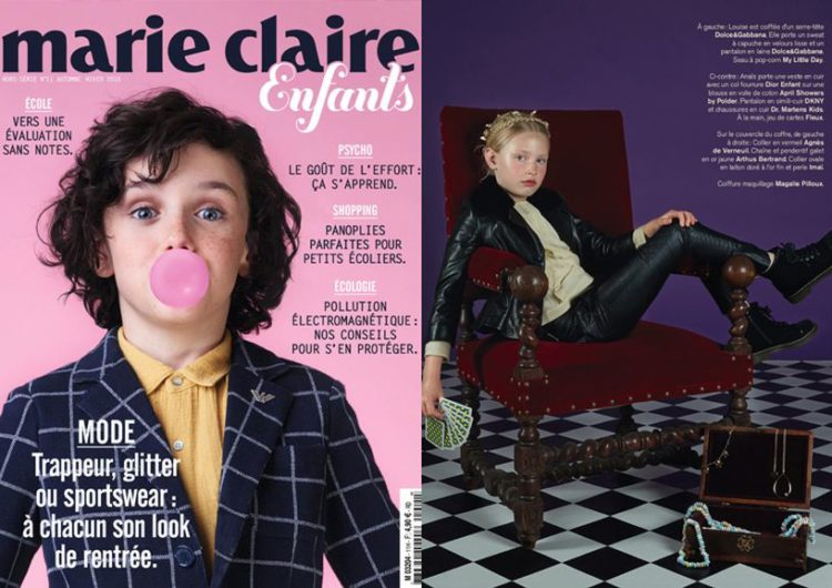 Marie Claire Enfants, Septembre 2015