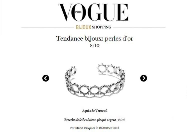 Vogue, Janvier 2016