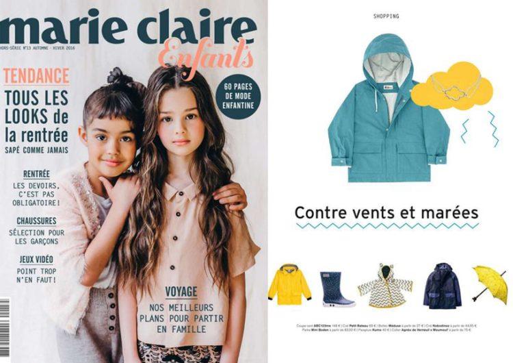 Marie Claire Enfants, Septembre 2016