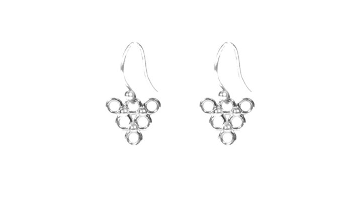 boucles triangles agnes de verneuil