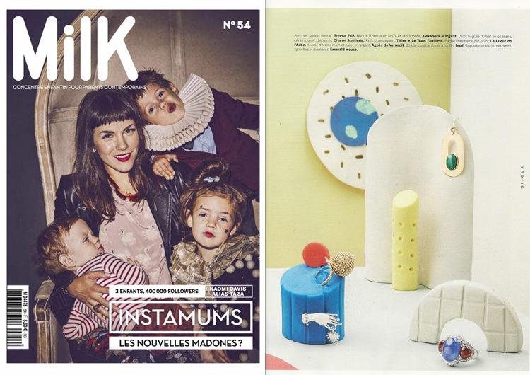 Milk, Décembre 2016