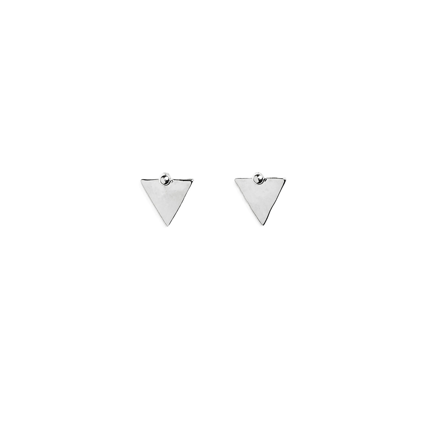 puces triangle argent
