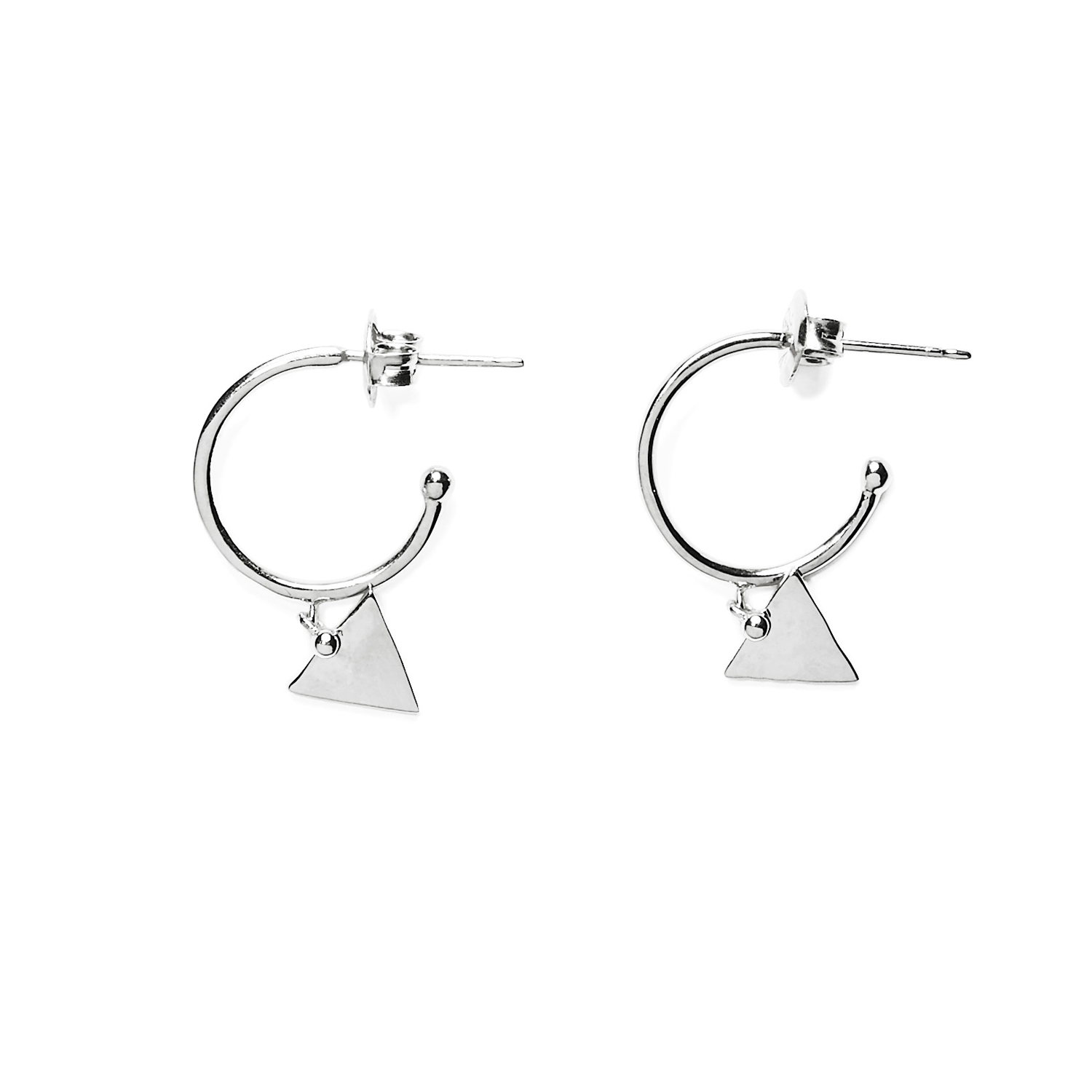 cleoles triangle argent