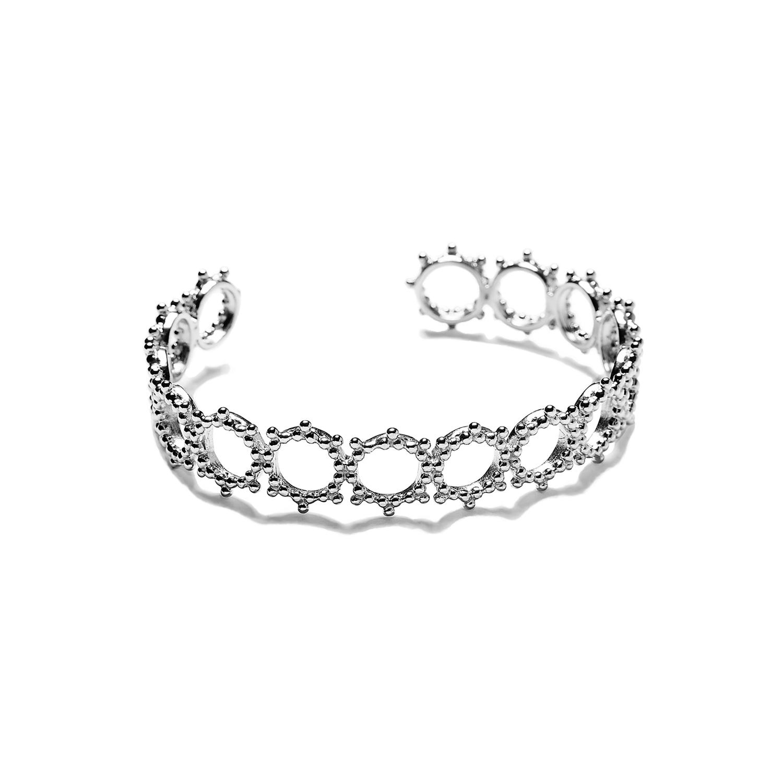 Bracelet Manchette Soleil ARGENT