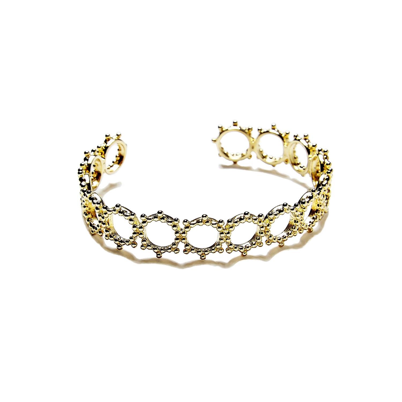 Bracelet Manchette Soleil DORE