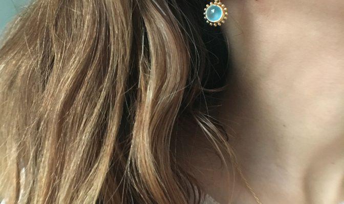 Boucles d'oreille créoles Agnès de Verneuil