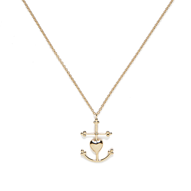 Collier Grande Croix de Camargue