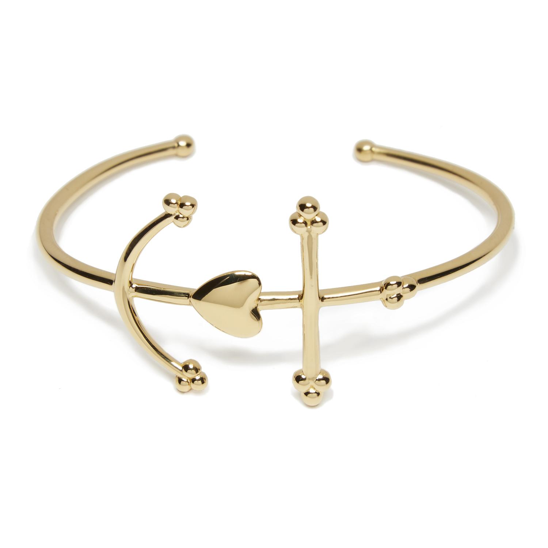 Bracelet Manchette Croix de Camargue