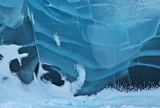 Glacier calcedoine BLEU