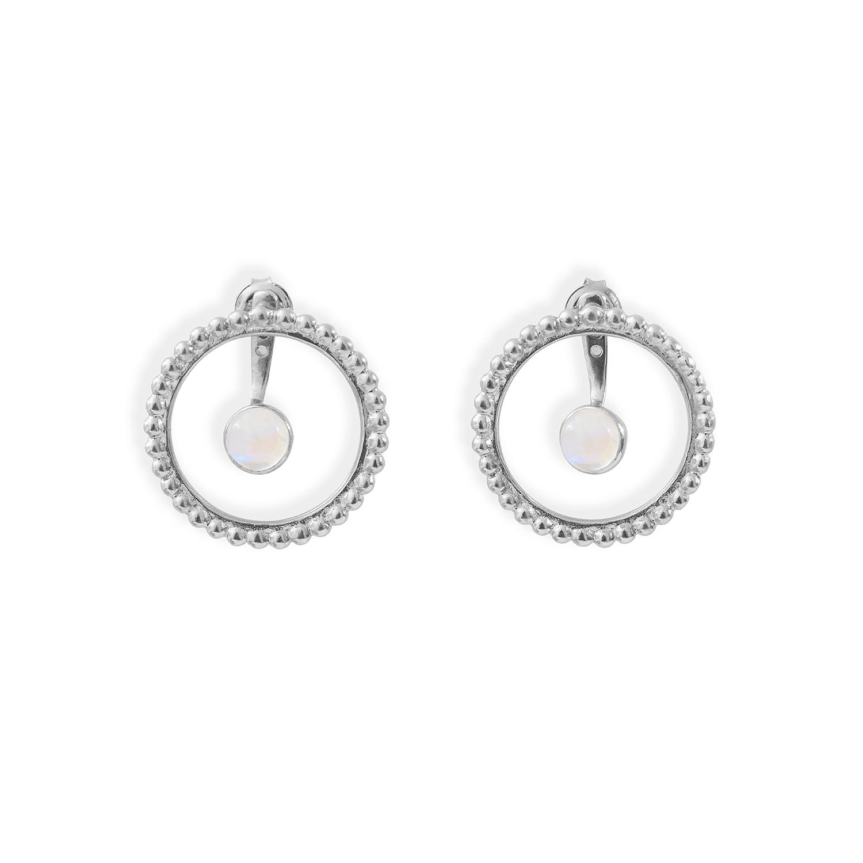 Boucles-cercles-de-perles-et-pierres-argent-pierre-de-lune