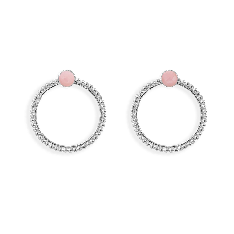 Puces-pierres-et-dessous-doreilles-anneaux-perles-argent-opale-rose