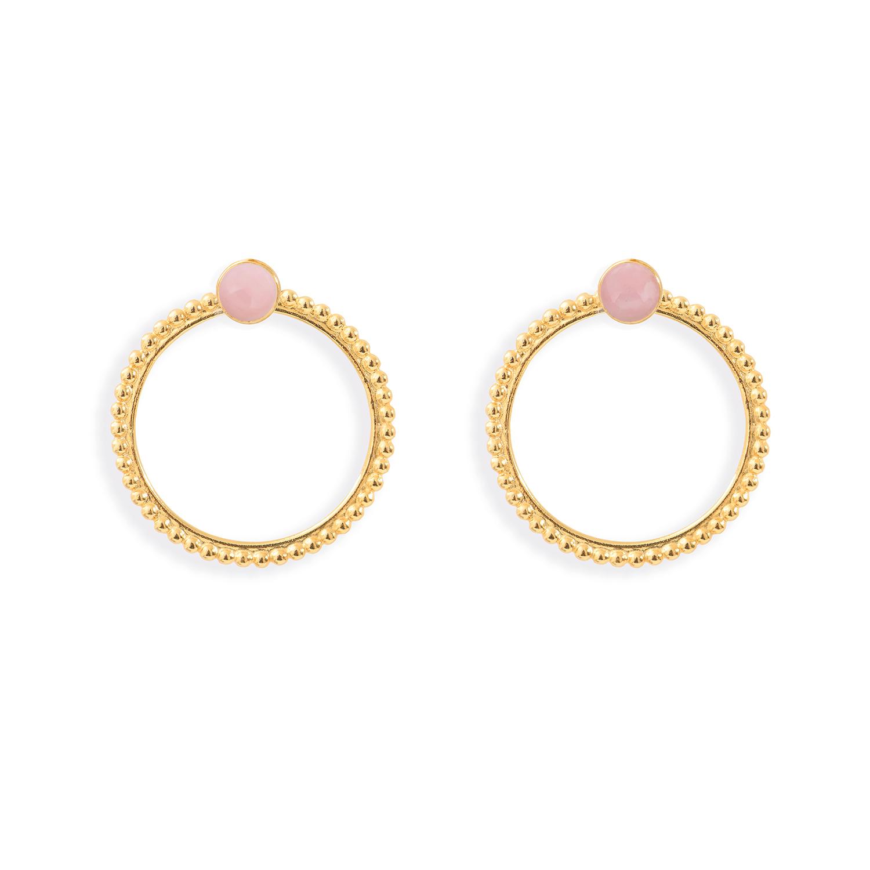 Puces-pierres-et-dessous-doreilles-anneaux-perles-vermeil-opale-rose