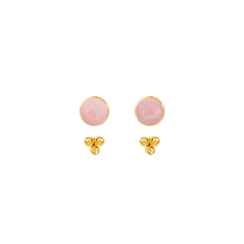 Puces-pierres-et-dessous-d-oreilles-trois-perles-vermeil-opale-rose
