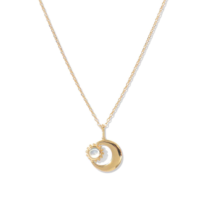 Collier Moon Nacre Lune Agnes de Verneuil