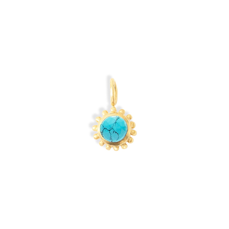 pendentif-soleil-vermeil-Turquoise