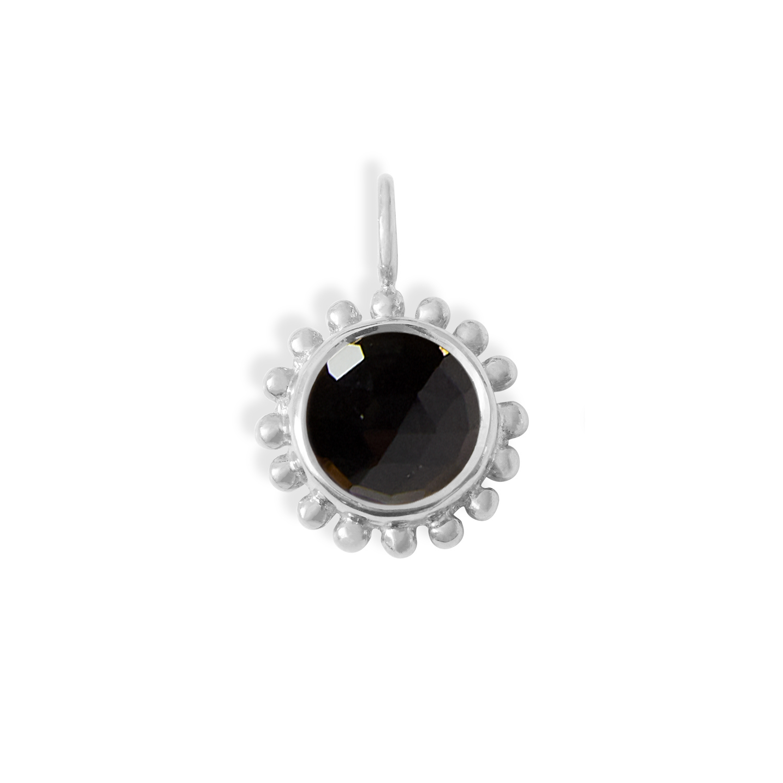 pendentif-soleil-Argent-Onyx