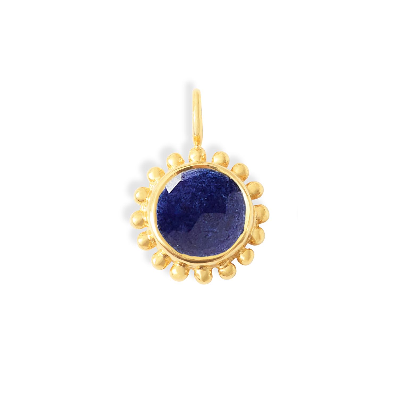 pendentif-soleil-vermeil-Lapis-Lazuli