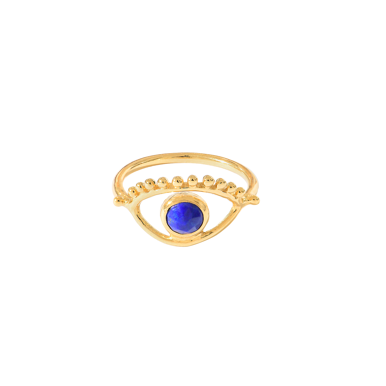 Bague-Ajna-Oeil-Vermeil-Lapis-Lazuli