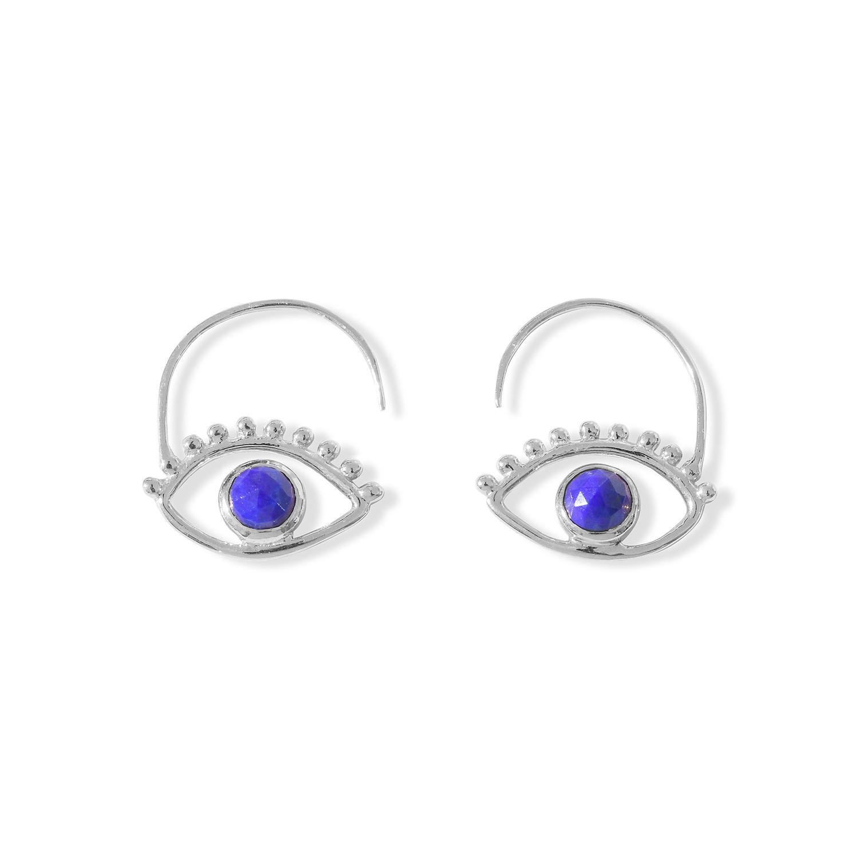Boucles-d-Oreilles-Ajna-Oeil-Argent-Lapis-Lazuli