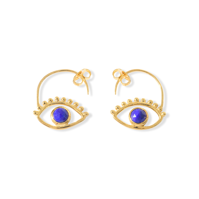 Boucles-d-Oreilles-Ajna-Oeil-Vermeil-Lapis-Lazuli