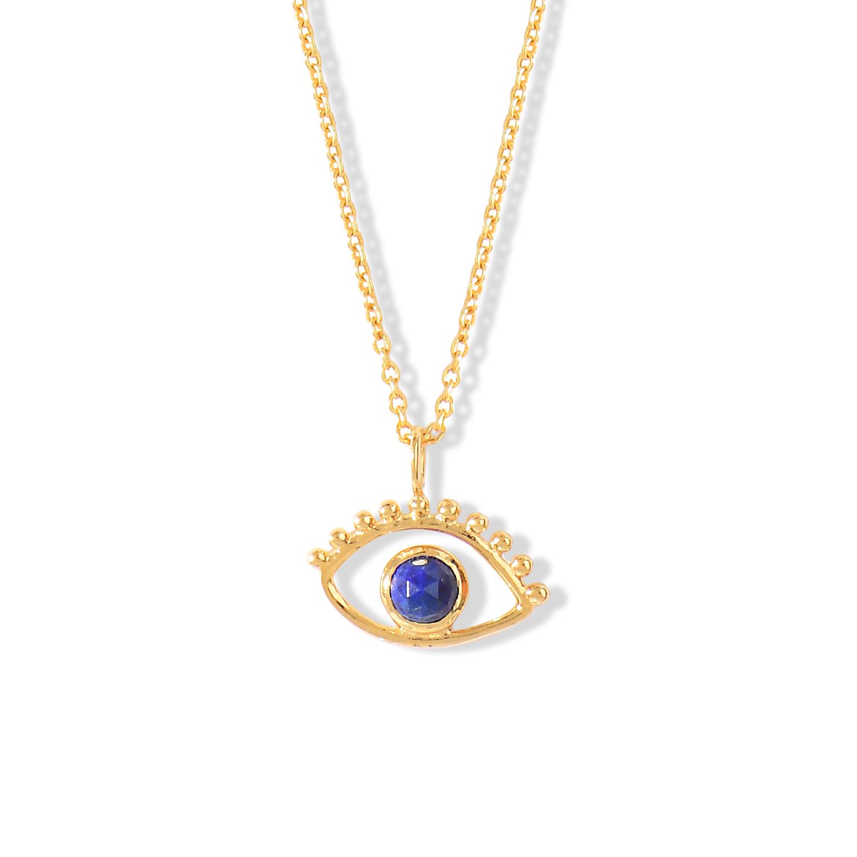Collier-Ajna-Oeil-Vermeil-Lapis-Lazuli